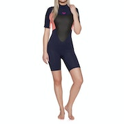 Roxy 2mm Prologue Back-Zip Shorty Womens Wetsuit