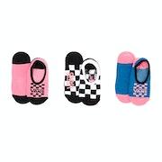 Vans Fun Times Canoodles 3 Pack Womens Socks
