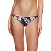 Rhythm South Pacific Cheeky Bikini Bottoms - Black