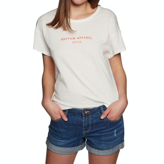 Rhythm Weekend Womens Short Sleeve T-Shirt