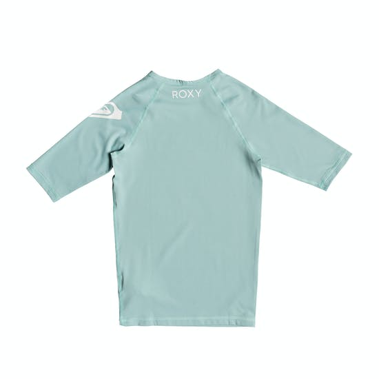 Roxy Funny Waves Short Sleeve UPF 50 Girls Rash Vest