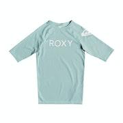 Roxy Funny Waves Short Sleeve UPF 50 Girls Rash Vest