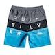 Quiksilver Word Block 15in Boys Swim Shorts