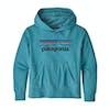Patagonia Lightweight Graphic Kids Pullover Hoody - Mako Blue
