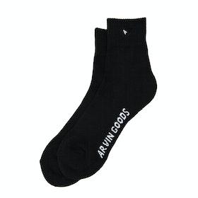 Arvin Goods Crew Socks - Black
