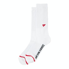 Arvin Goods Gym Socks - White