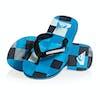 Quiksilver Molokai Resin Check Kids Sandals - Black/blue/blue