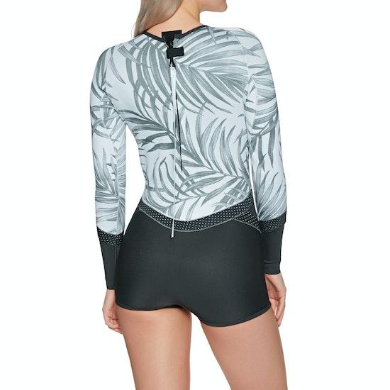 Rip Curl Madi 1mm Long Sleeve Boyleg Shorty Ladies Wetsuit