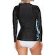 Rip Curl Moontide Long Sleeve Front Zip Womens Rash Vest