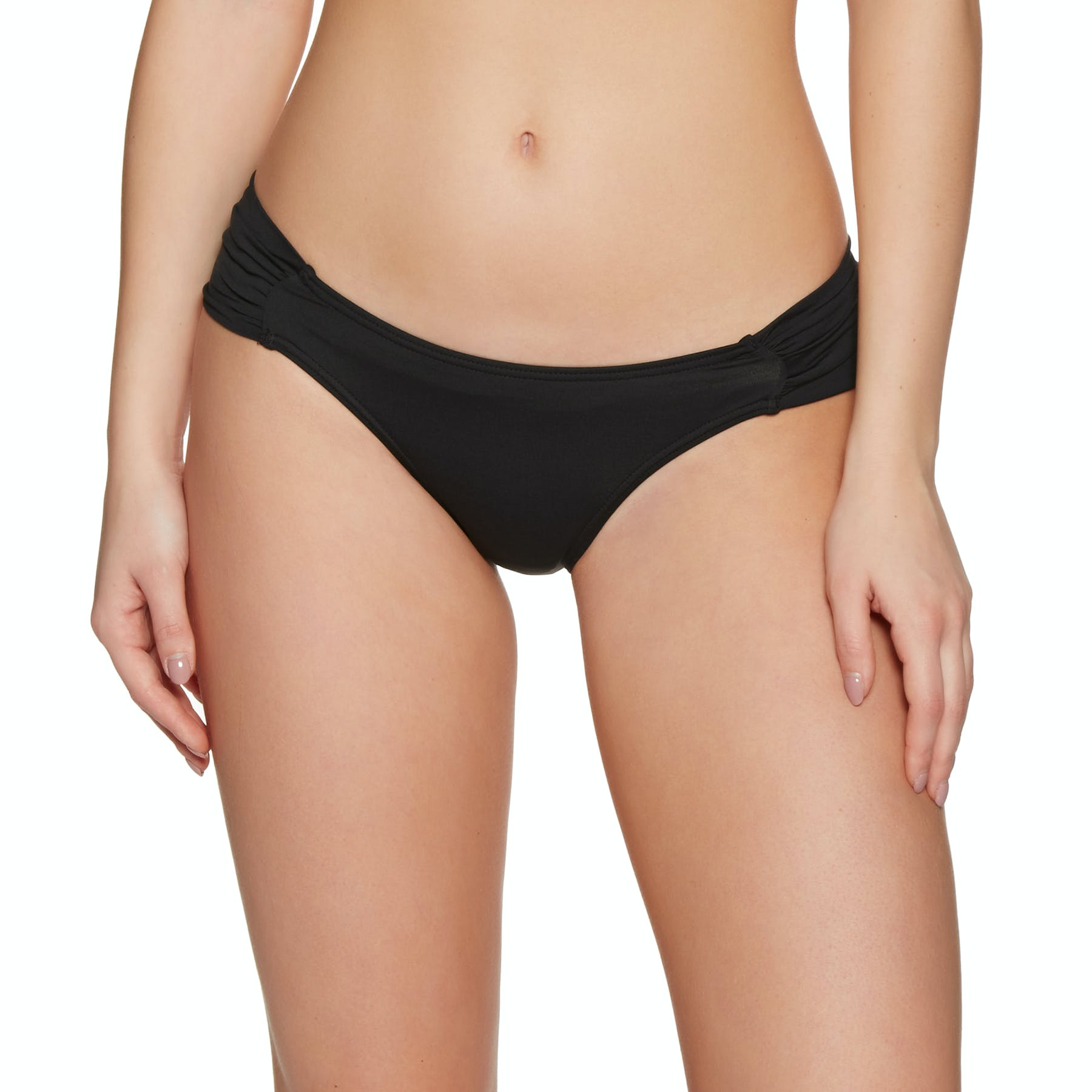 SWELL Ria Rouched Side Pant Bikini Bottoms
