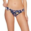 SWELL Ria Rouched Side Pant Bikini Bottoms - Navy Print