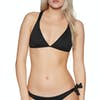 SWELL Cross Back Bikini Top - Black