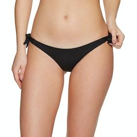 SWELL Tropical Tie Side Pant Bikini Bottoms - Black
