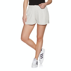 SWELL Geenie Ribbed Short Womens Shorts - Grey Marle