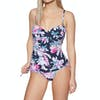 Joules Delphine Womens Swimsuit - Navy Floral