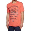O Neill Muir Short Sleeve T-Shirt - Burning Orange