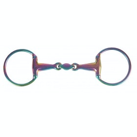 Horka Double Jointed Eggbutt SS Bit - Rainbow