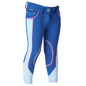 Horka Presto Childrens Riding Breeches - Poseidon