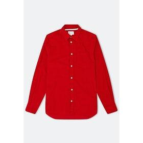 Norse Projects Osvald Corduroy L S Shirt - Askja Red