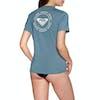 Roxy Enjoy Waves Short Sleeve UPF 50 Womens Surf T-Shirt - Blue Mirage