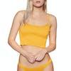 Billabong Sun Rise Beach Cami Bikini Top - Golden Glow