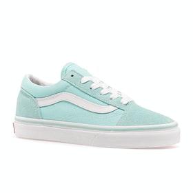 Chaussures Enfant Vans Old Skool - Blue Tint True White