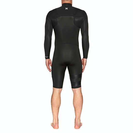 Hurley Advantage Plus 2mm Chest Zip Long Sleeve Shorty Wetsuit