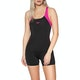Speedo Boom Splice Legsuit Womens Swimsuit