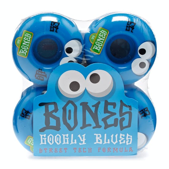 Ruedas de patinete Bones Stf Googly Blues V4 53 Mm