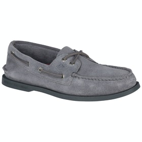 Sperry A/o 2-eye Suede , Dress Shoes - Grey