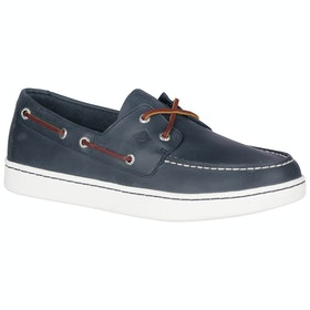 Sperry Cup 2-eye Slip On Trainers - Navy