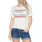 Roxy Follow Me to The Beach Ladies Short Sleeve T-Shirt