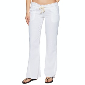 Roxy Oceanside Womens Trousers - Sea Salt