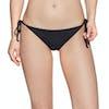 Roxy Beach Classic Regular Tie Side Bikini Bottoms - True Black