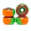 Spitfire Formula Four Classic 50/50 Swirl 99du 53mm スケートボード用ホイール - Orange Green