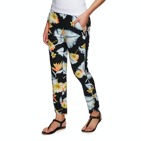 Roxy Ocean Sailor Womens Trousers - Anthracite Tropical Love