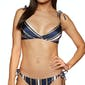 Medieval Blue Macy Stripe