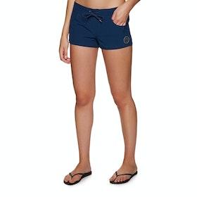 Roxy Salt Retreats Womens Boardshorts - Medieval Blue