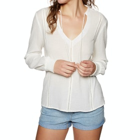 Roxy Times Square Shades Womens Top - Marshmallow