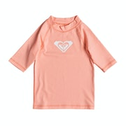 Licra Girls Roxy Whole Hearted Short Sleeve
