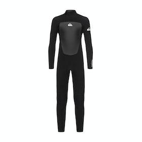 Combinaison de Surf Quiksilver Prologue 3/2mm Back-Zip - Black