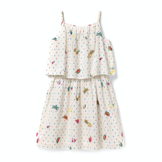 White Stuff Poppy Embroidered Dress