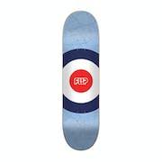 Flip Mapdyssey Blue 7.88 Inch Skateboard Deck