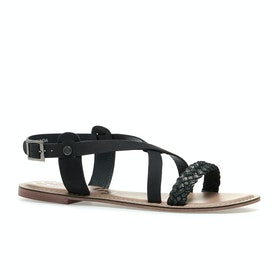 Superdry Serenity Womens Sandals - Black Pewter
