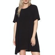 SWELL Ebony Short Sleeve Swing Dress