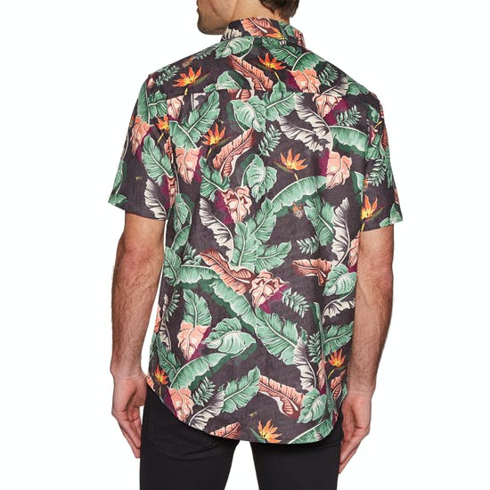 Diamond Supply Co Tropical Paradise Woven 半袖シャツ