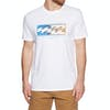 Camiseta de manga corta Billabong Inversed - White