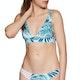 Pieza superior de bikini Rip Curl Paradise Palm Revo Halter
