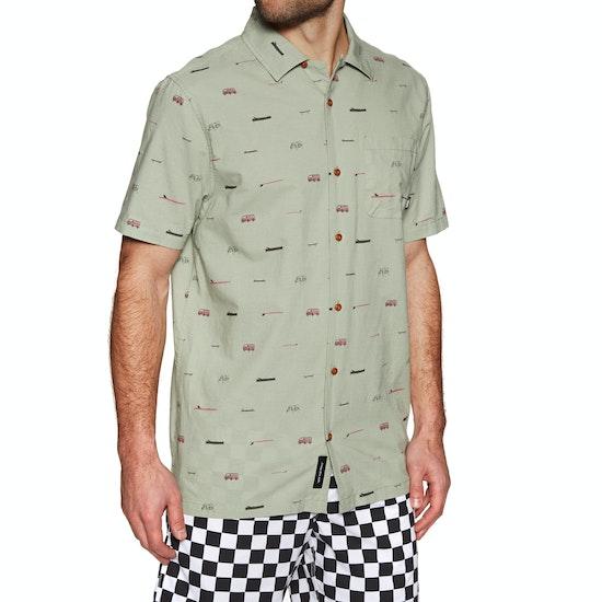 Vans Yusuke Loggin Overhemd Korte Mouwen