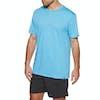 Hurley Siro Staple Short Sleeve T-Shirt - Blue Fury Heather